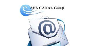 anunţ Apă Canal Galaţi
