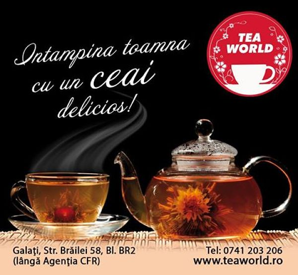 concurs tea world