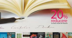 reducere la toate cărțile din librărie