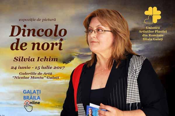 Silvia Ichim dincolo de nori expozitie de pictura galati