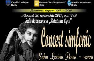 Concert simfonic Sabin Laviniu Penea