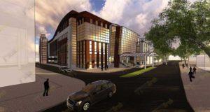 Organizarea spațiilor în noul sediu al Primăriei Municipiului Galați