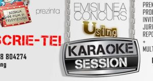 Emisiunea-concurs U Sing-Karaoke Session, în fiecare vineri la1900