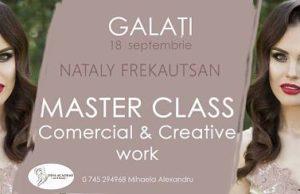 Master Class Nataly Frekautsan pentru prima dată în Galaţi