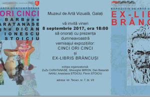 Muzeul de Artă Vizuală Galaţi vă invită la expoziţie pe data de 8 Septembrie