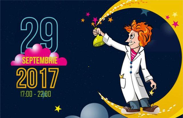 Noaptea Cercetătorilor Europeni - 29 septembrie 2017