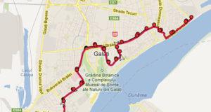 Traseul 10 – Staţii şi program – Transurb Galaţi