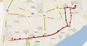 Traseul 9 – Staţii şi program – Transurb Galaţi
