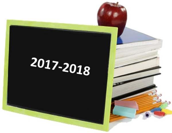 anul şcolar 2017-2018