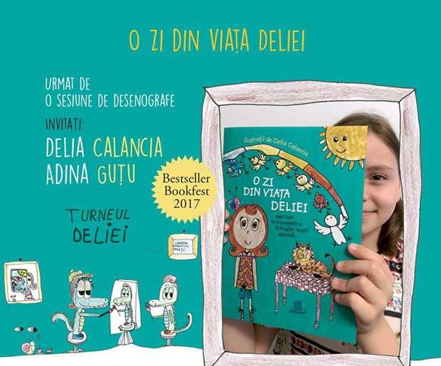O zi din viaţa Deliei - lansare de carte - Humanitas Galaţi