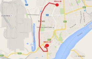Traseul 14 – Staţii şi program – Transurb Galaţi