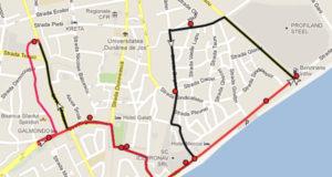 Traseul 15 – Staţii şi program – Transurb Galaţi