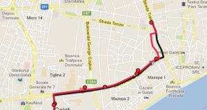 Traseul 16 – Staţii şi program – Transurb Galaţi