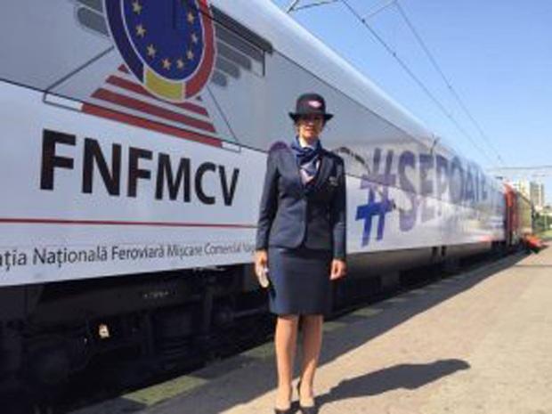 Vagonul ultramodern al CFR, cu wi-fi, radio-TV, climatizare, circulă săptămâna aceasta pe ruta Galați – București