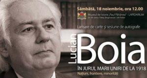 Întâlnire cu Lucian Boia la Galați