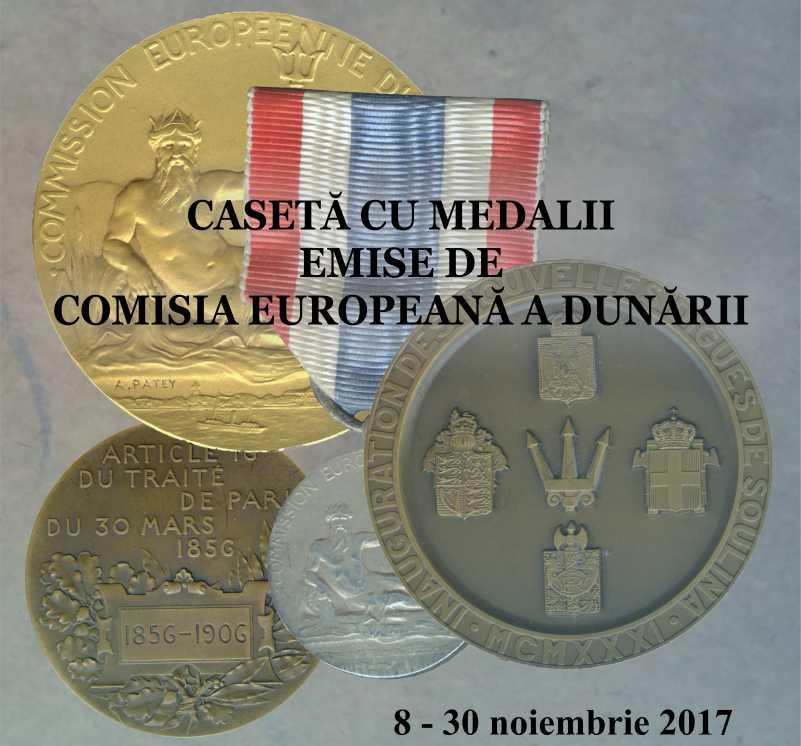Casetă cu medalii Exponatul lunii la Muzeul de Istorie