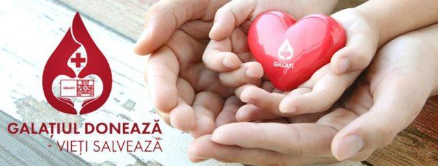 Galațiul donează și vieți salvează! Alătură-te campaniei din 11-15 Decembrie