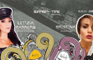 Girls love techno w Letizia Carrero & Cristina la Summer Time