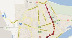 Traseul 102 – Staţii şi program – Transurb Galaţi