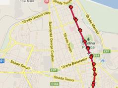 Traseul 104 – Staţii şi program – Transurb Galaţi