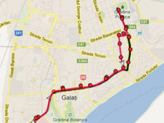 Traseul 105 – Staţii şi program – Transurb Galaţi