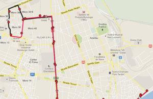 Traseul 34 – Staţii şi program – Transurb Galaţi