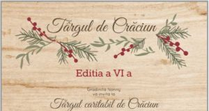 Târgul caritabil de Crăciun, ediţia a VI-a, la C House pe 14 decembrie
