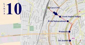 Traseul 10 Gara CFR – Grădina Zoologică – Staţii şi program – Braicar Brăila