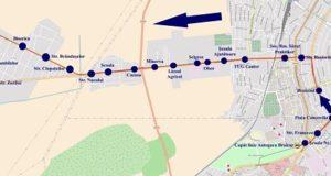 Traseul 14 Autogara Braicar - Cazasu – Staţii şi program – Braicar Brăila