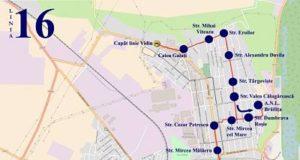 Traseul 16 Vidin - Biserica R.Negru – Staţii şi program – Braicar Brăila