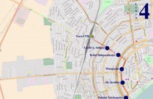 Traseul 4 Gara CFR – Peco Mol - Staţii şi program – Braicar Brăila