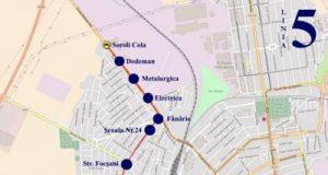 Traseul 5 Soroli – Peco Mol – Braila Mall – Staţii şi program – Braicar Brăila
