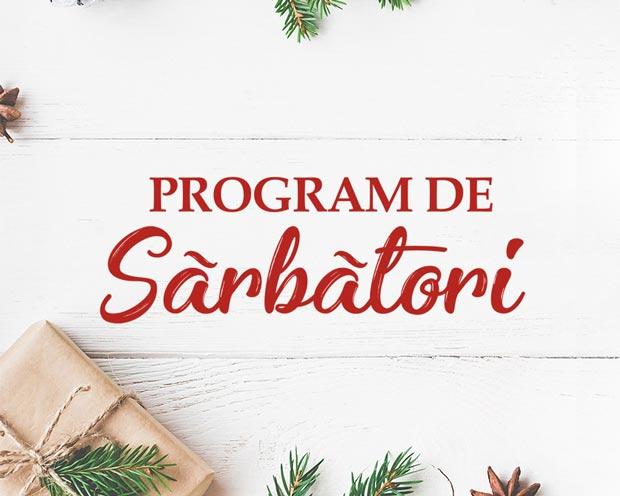 Brăila Mall - program galerie şi Carrefour pentru sfârşitul de an