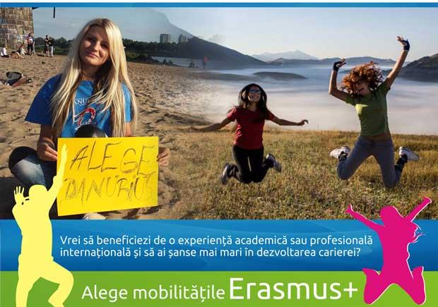 Noi oportunități de burse Erasmus+ pentru studenți. Selecţia pe 17 ianuarie