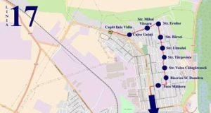 Traseul 17 Vidin – Biserica R.Negru – Staţii şi program – Braicar Brăila