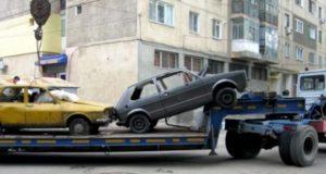 Maşinile abandonate şi nerevendicate în 10 zile vor intra în proprietatea UAT Galaţi