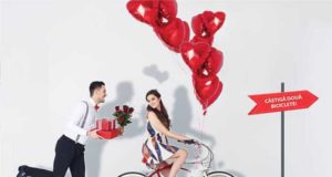 Pedalează km de dragoste la Shopping City Galați