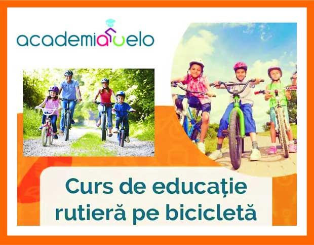 curs de educţia rutieră pe bicicletă Brăila