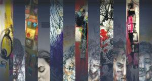 """Expoziție de artă textilă și grafică ,,Căutări în labirint"""" - Simona Pascale și Tudor Șerban"""