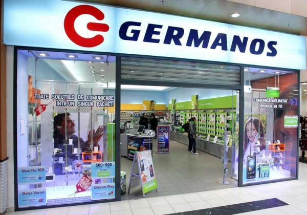 Magazinele Germanos devin Telekom