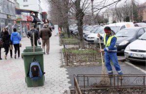 Primăria Galați a dat startul curățeniei de primăvară în oraș