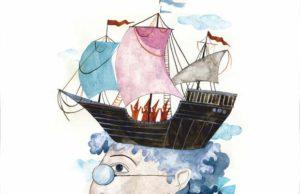 afis_Gulliver în ţara piticilor Teatrul de Păpusi Brăila