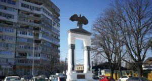 """inaugurarea expoziției de fotografie cu ilustrarea monumentului """"Apărătorii Galațiului"""""""