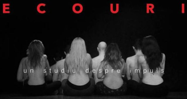 """Ecouri. Un studiu despre impuls"" - spectacol de dans contemporan"