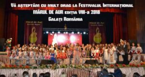 Festivalul Internațional Mărul de Aur ediția VIII-a 2018, 27-29 Aprilie