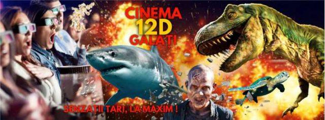 Unic în România Cinema 12D la Grădina Botanică Galați