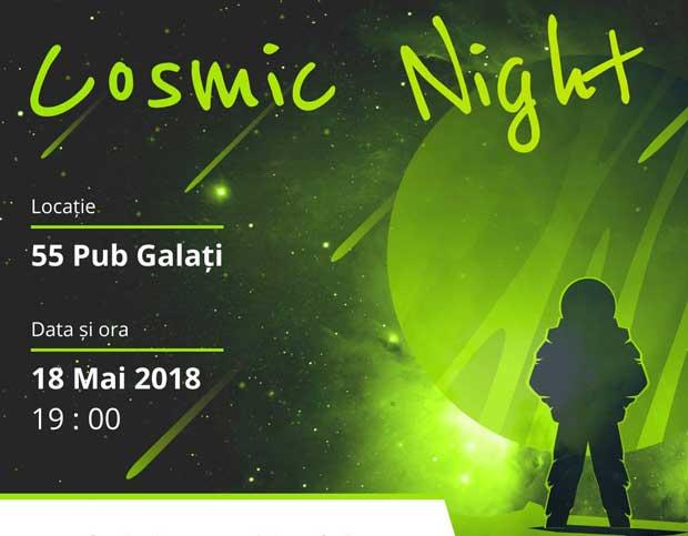 Cosmic Night | Distrează-te și fă o investiție în comunitate!