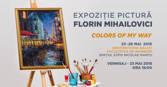 Florin Mihailovici: Expoziție de pictură
