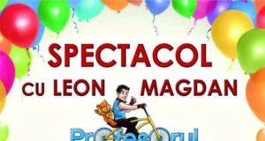 Leon Magdan, Profesorul de joacă vine la Galaţi pe 24 Mai