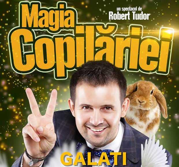 Magia Copilariei la Galati